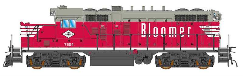 PREORDER InterMountain 49817(S)-02 GP10 Paducah W/DCC & Sound, Bloomer Line