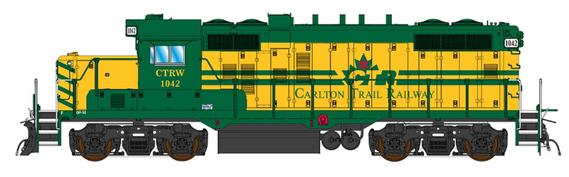 PREORDER InterMountain 49820(S)-01 GP10 Paducah W/DCC & Sound, Carlton Trail Railway