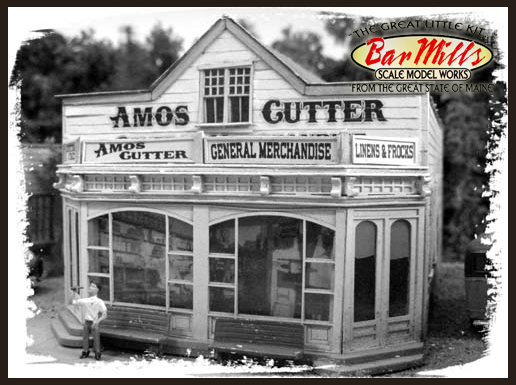Bar Mills 504 Amos Cutter's General Store, O Scale