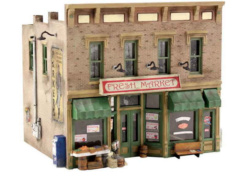 Woodland Scenics PF5200 Fresh Market - N Scale Kit