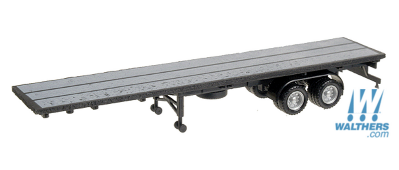 Herpa Models 326-5276 40' flatbed trailer, HO