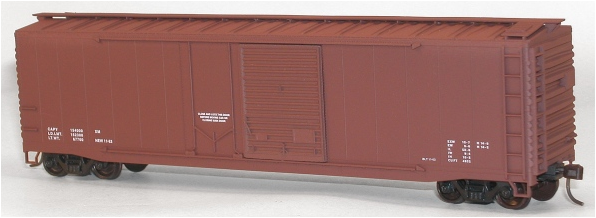 Accurail 5398 50' AAR CD BOXCAR Data Red, HO