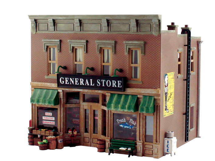 Woodland Scenics PF5890 Lubener's General Store Kit, O