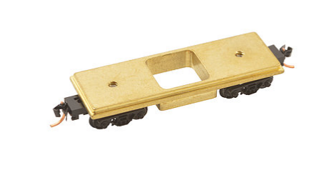 Centerline Rail Cleaner 60022-D12, Brass, Micro Trains trucks / Magnetic couplers, N
