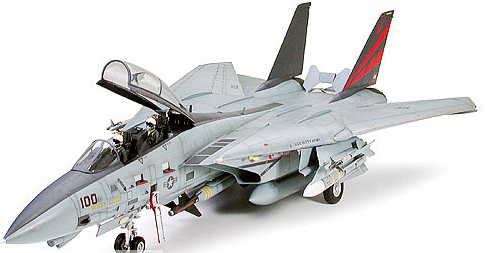 Tamiya 60313 F-14A BLACK KNIGHTS Kit 1:32