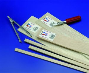 Midwest Products co 6089 3/8 X 1/2 X 36 Balsa Wood 10 Pack