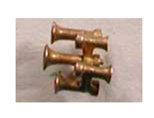 Cal-Scale Train Parts 539  BAR BELL 1pk, HO
