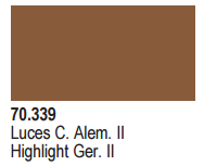 Vallejo Acrylic Paints 70339 HIGHLIGHT GERMAN FLDGRU