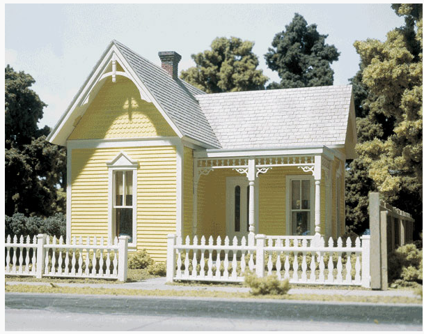 Design Preservations 80300 Aunt Eleanor's House Kit, O Scale