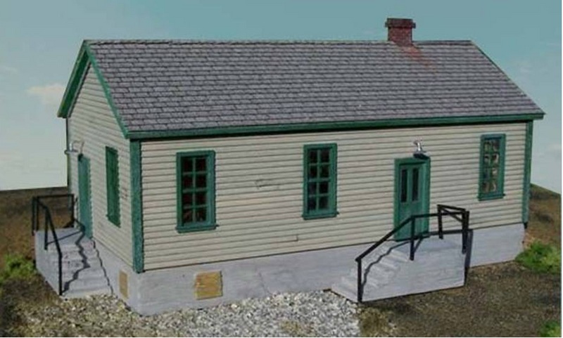 Motrak Models 83001 DANIELSON BUILDING KIT (Concrete), HO