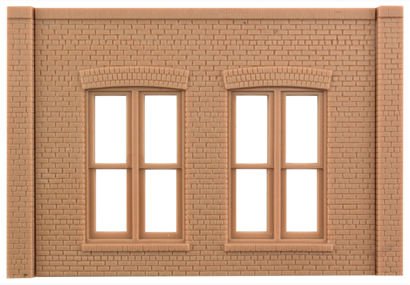 Design Preservations 90106 DOUBLE WINDOW WALL, O Scale