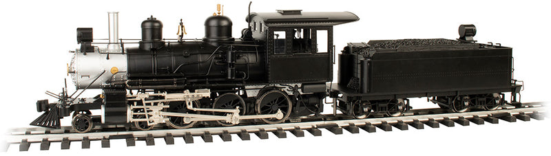 Preorder Bachmann 91804 4-6-0 - Standard DC - Sound-Ready with Installed Speaker -- Painted, Unlettered (black, silver), G Scale