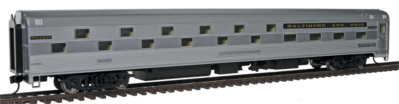 Walthers 920-9403 B&O Capitol Limited 85' Budd 24-8 Slumbercoach Sleeper - Std, HO