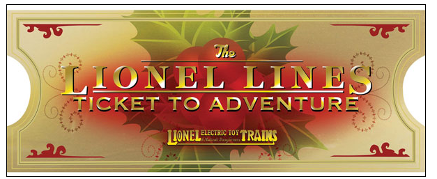 Lionel 922061 LIONEL LINES 2016 TICKET ORNAMENT