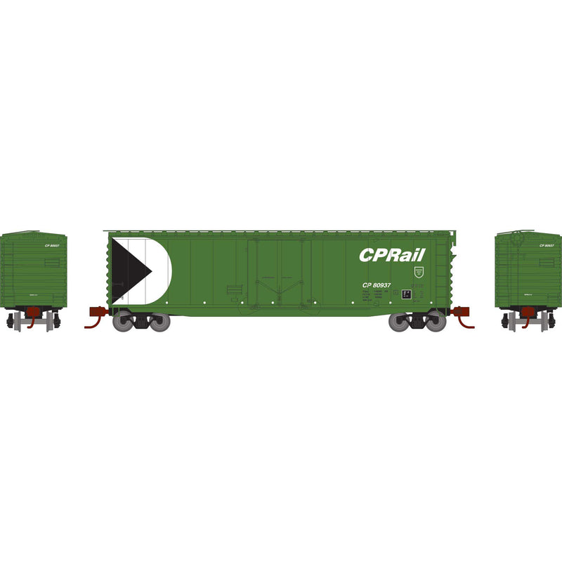 PREORDER Athearn N 50' PS-1 Plug Door Smooth Side Box, CPR