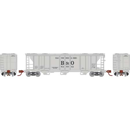 PREORDER Athearn N PS-2 2893 3-Bay Covered Hopper, B&O