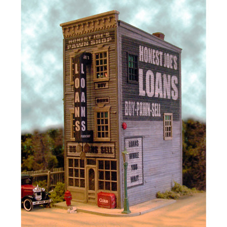 Bar Mills 442 Honest Joe's Pawn & Loan Kit, HO