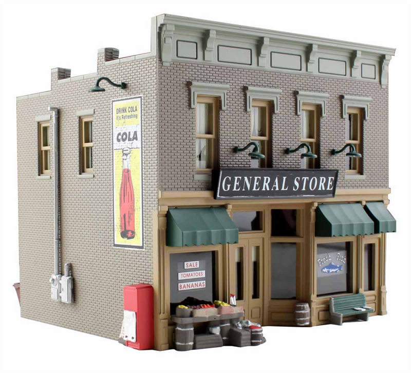 Woodland Scenics BR4925 Lubener's General Store, N Scale