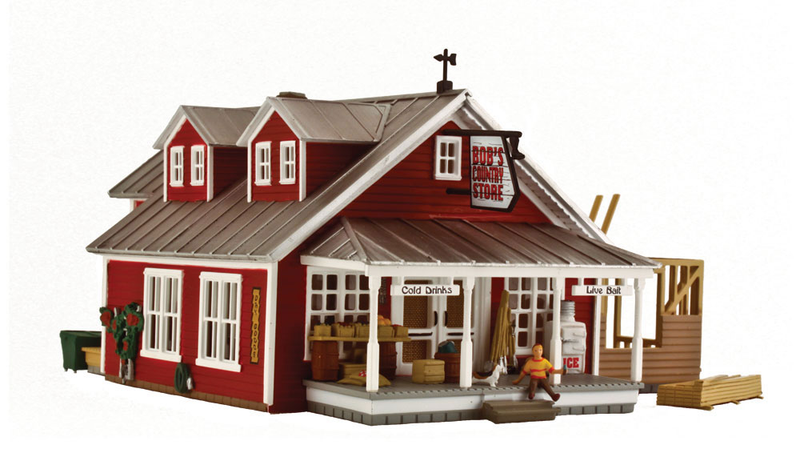 Woodland Scenics BR5031 Country Store Expansion, HO