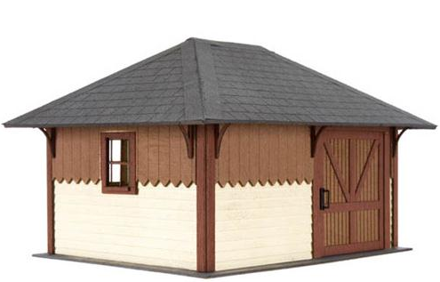 Atlas O Scale Trains 4001001  SECTION HOUSE, KIT