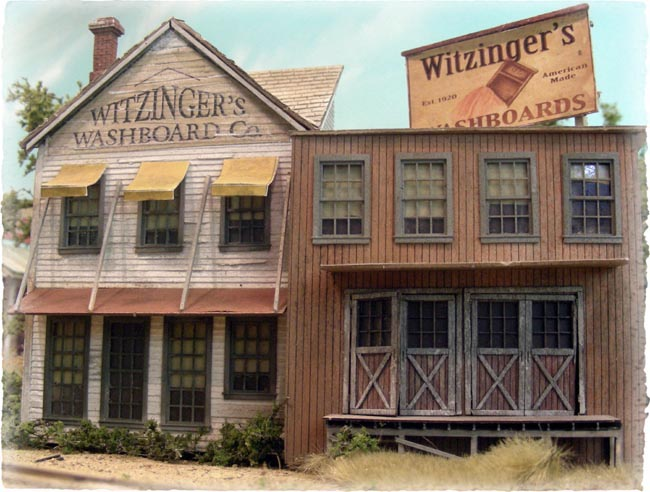 Bar Mills 172 Witzinger's Washboards Building Kit, HO
