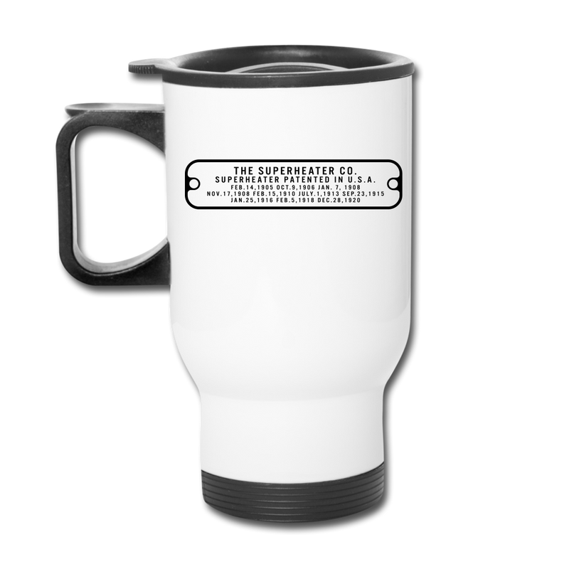 The Superheater Co Baldwin Stainless Steel - Travel Mug - white