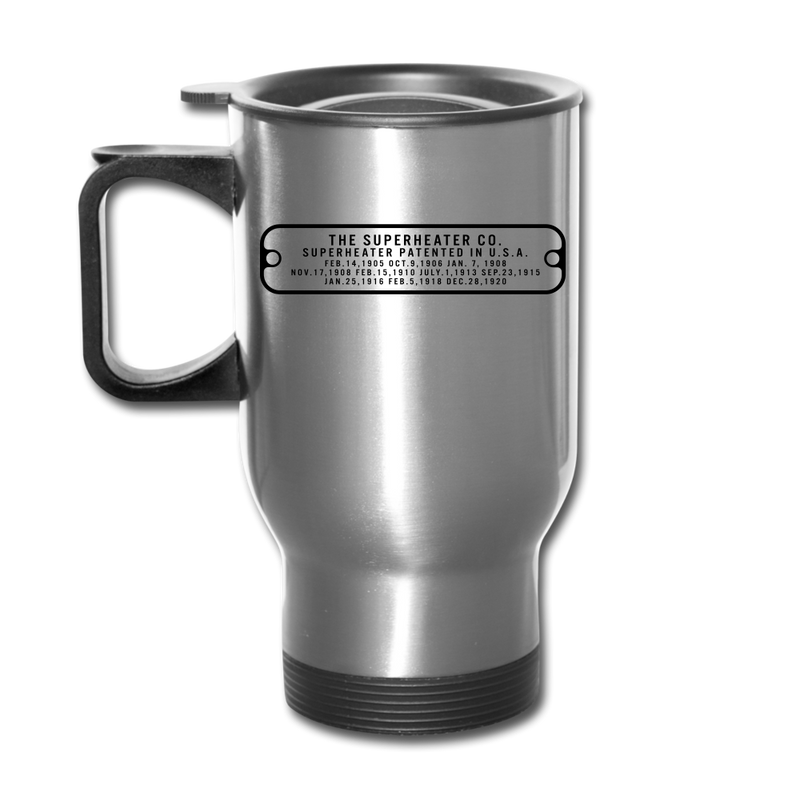 The Superheater Co Baldwin Stainless Steel - Travel Mug - silver