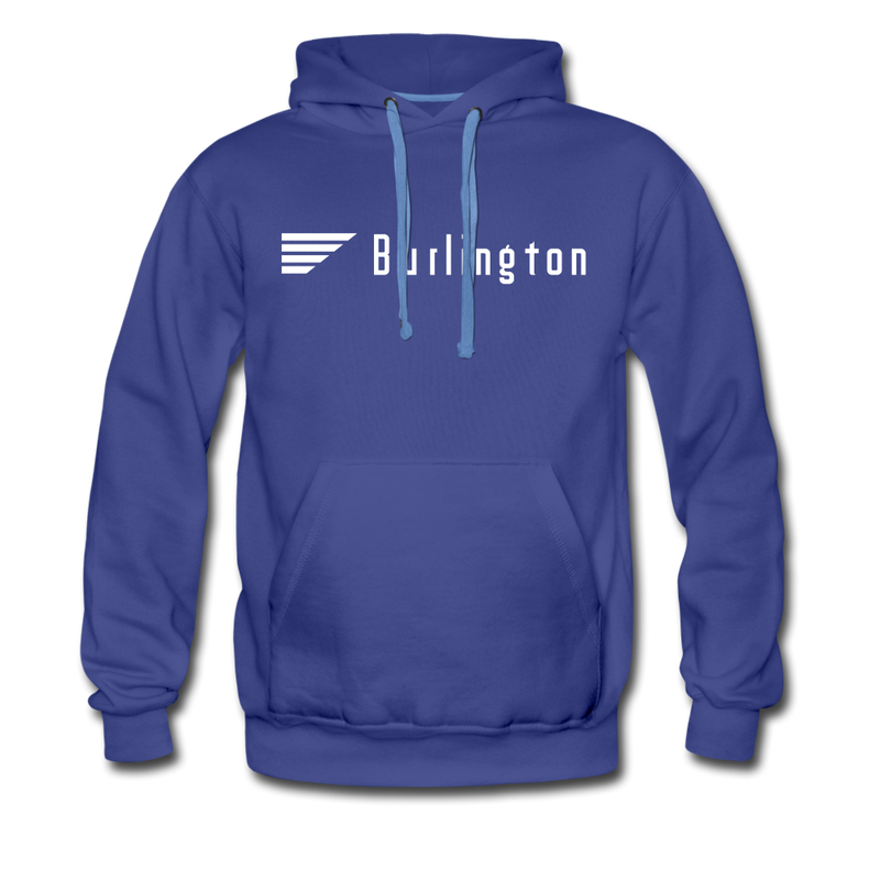 Burlington - Men's Premium Hoodie - royalblue