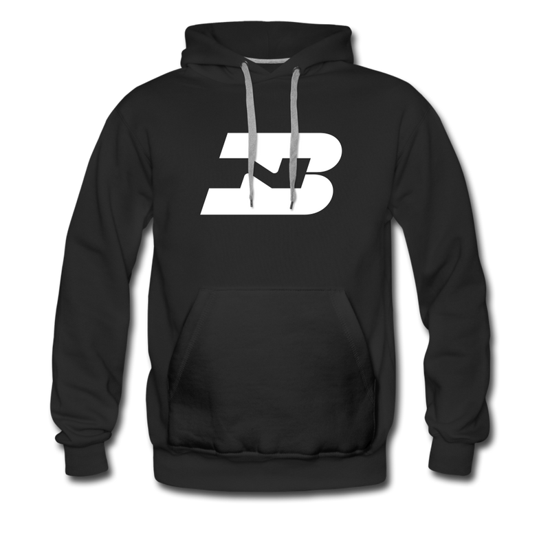 Burlington Northern - Men's Premium Hoodie - black