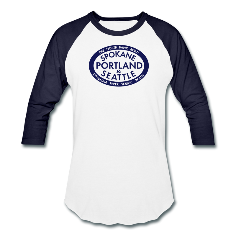 SP&S - Baseball T-Shirt - white/navy