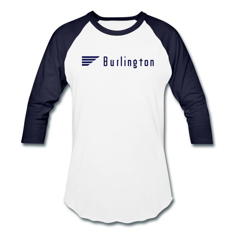 Burlington - Baseball T-Shirt - white/navy