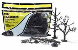 "Woodland Scenics TR1124 Tree Armatures 2 1/2"" To 4"" Armatures (Pine)"