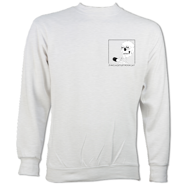 Skull and Mic Logo Sweater