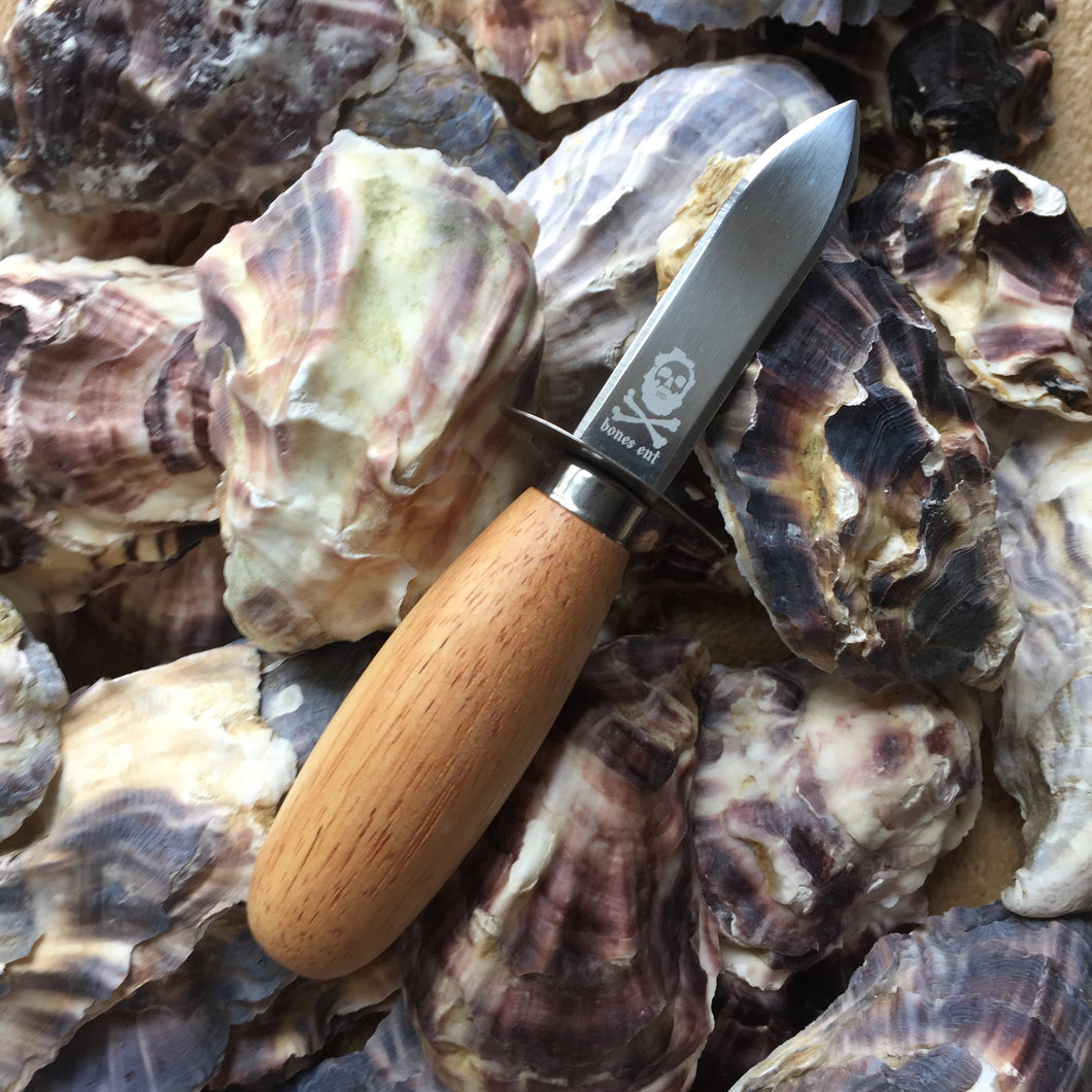 Bones Entertainment custom oyster shucker