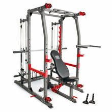 Load image into Gallery viewer, (PRE-SALE IN STOCK JULY 30TH )MARCY PRO SMITH CAGE HOME GYM TRAINING SYSTEM | SM-4903
