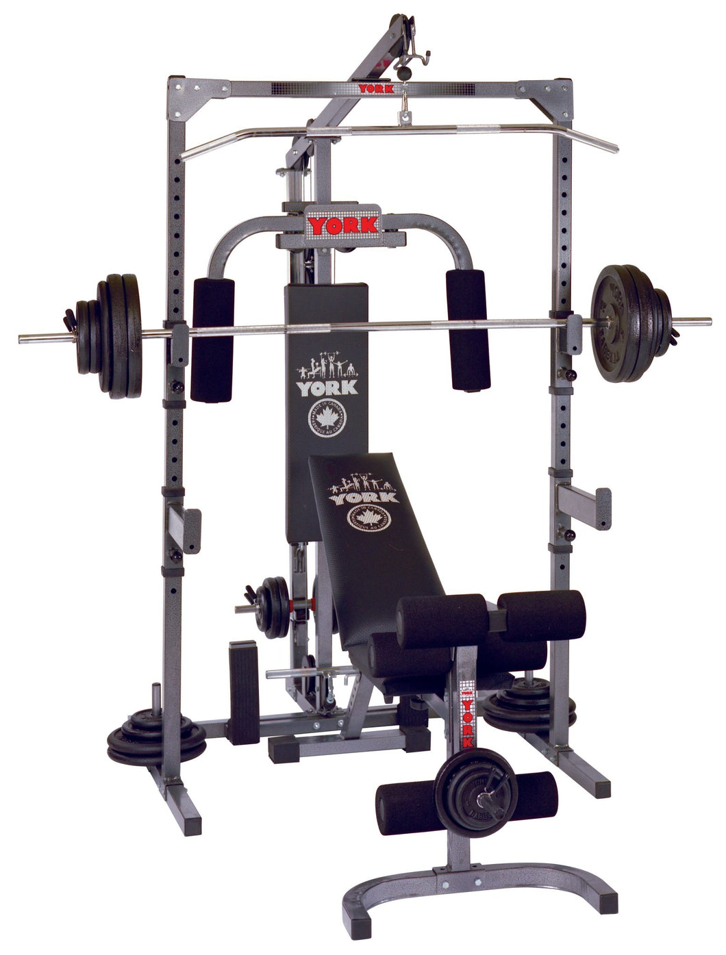 York 3000 Power Station/ Power rack ( made in Canada )
