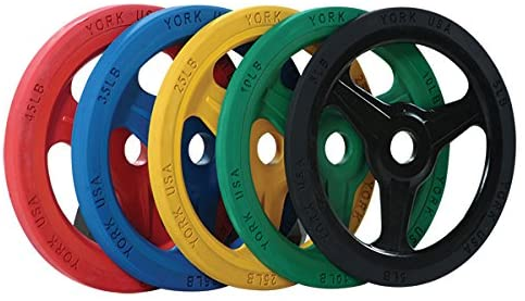 YORK FULL COMMERCIAL  Bumper Grip Plate (Color)