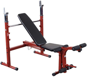 Best Fitness Olympic Bench with Leg Developer