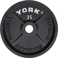 Load image into Gallery viewer, YORK 2″ Cast Iron Olympic Weight Plates