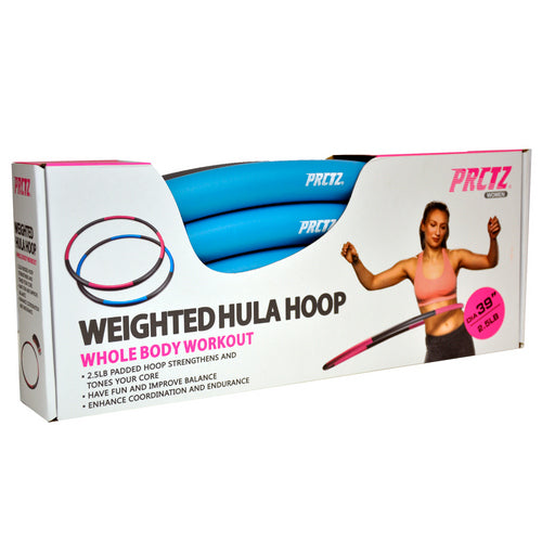 PRCTZ Weighted Hula Hoop 2.5LB