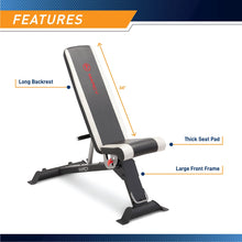 Load image into Gallery viewer, MARCY ADJUSTABLE UTILITY BENCH | SB-670