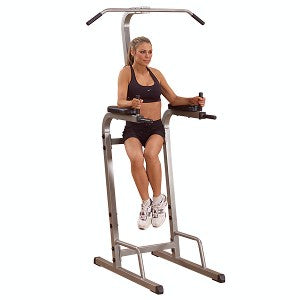 Best Fitness Vertical Knee Raise power tower