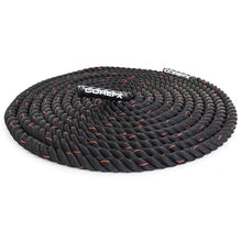 "Load image into Gallery viewer, COREFX Battle Rope  1.5"" in diameter, 50' long"