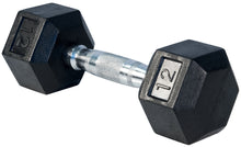 Load image into Gallery viewer, YORK  Rubber Hex Dumbbells