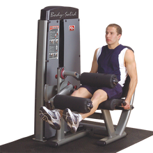 Load image into Gallery viewer, BODY SOLID PRO DUAL LEG EXTENSION & CURL MACHINE