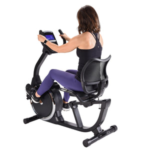 STAMINA MAGNETIC RECUMBENT EXERCISE BIKE 845