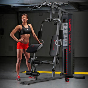 ( PRE SALE  IN STOCK SEPT 15-23 ) Marcy 150lb Stack Home Gym | MWM-990