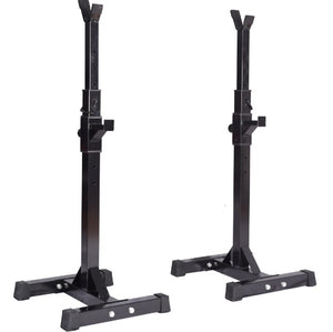 (PRE SALE  FOR 04/15 2021 ) SONFIT Pair of Adjustable Squat Rack Stands