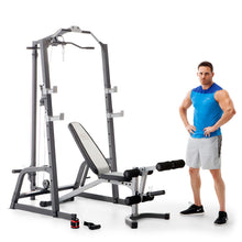 Load image into Gallery viewer, Marcy Pro Deluxe Cage System with Weight Lifting Bench | PM-5108