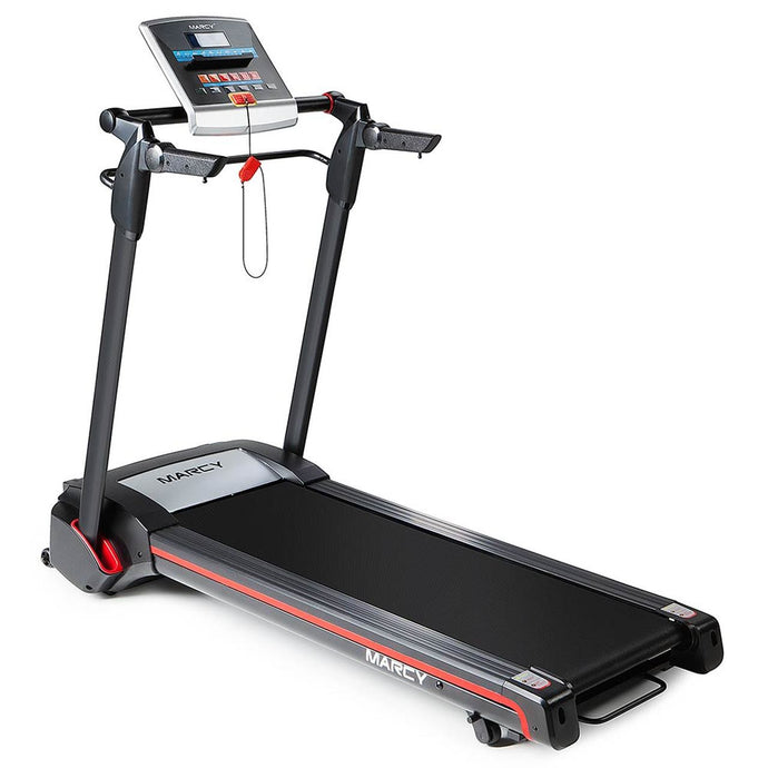 Marcy Easy Folding Motorized Treadmill | JX-651BW